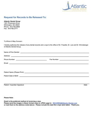 release to adg form